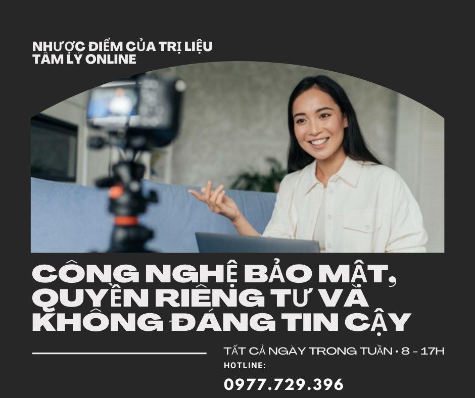 tri lieu tam ly online khong bao mat