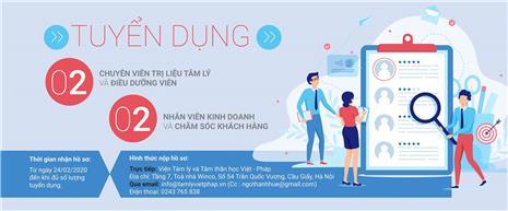 Thông báo tuyển dụng