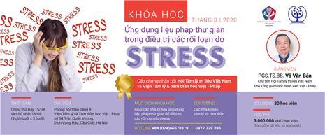 """Khóa đào tạo về """"Liệu pháp thư giãn trong điều trị các rối loạn do stress"""""""